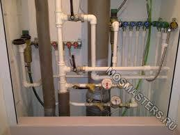 Разводка водопровода из полипропиленовых труб в квартире