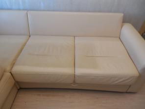 Чистка обивки мягкой мебели из натуральной кожи в Полевском