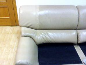 Чистка обивки мебели из кожи в Первоуральске и Ревде