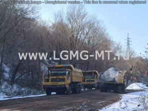 Карьерный самосвал рудовоз, углевоз LGMG MT80
