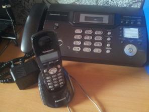 Факс Panasonic KX-FC962 автоответчик, автоопредилитель, в хорошем сост