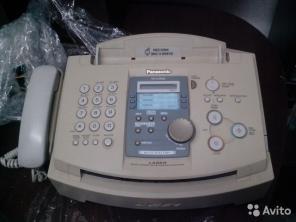 МФУ факс - телефон Panasonic KX-FLM553 laser. Цена 5500-00 торг