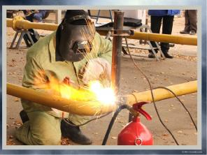 Удостоверение электрогазосварщика, сварщика, газорезчика, 2 - 6 разряд