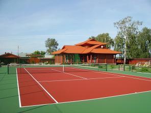 Строительство теннисного корта с любым покрытие на Ваш выбор