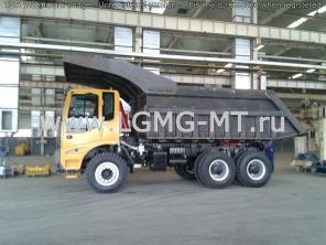 Китайский карьерный самосвал LGMG MT