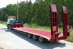 Доставка грузов тралом