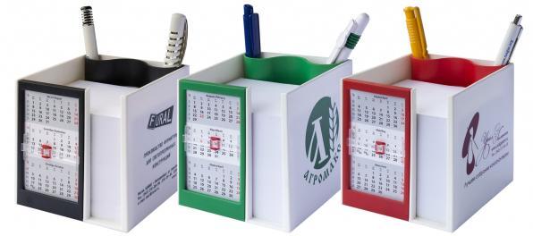 Канцелярский набор с календарём на 2019 год.