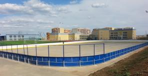 Хоккейная коробка, изготовление и монтаж. По доступной цене