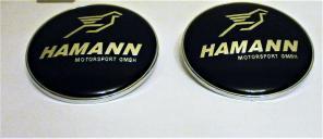 Эмблемы Hamann для тюнинга BMW