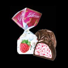 Молдавские конфеты GLORIA FRUTELIA crema de zmeura