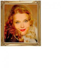 Портрет с фото карандашом и маслом, картины маслом заказать