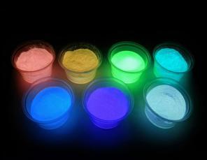 Светонакопительная краска, свечение до 12 часов в день