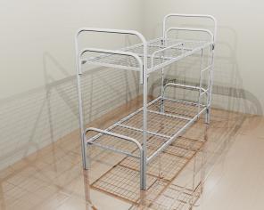 Кровати металлические эконом, кровать с металлическим изголовьем
