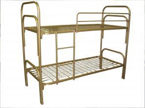 Кровати металлические для больницы, металлические кровати для рабочих