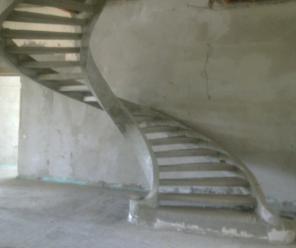 Монолитные бетонные лестницы