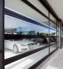 Панорамные, витринные ворота AluTrend Alutech из тёпл.акриловых панеле