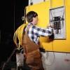 Услуги электрика 24 часа в сутки в Шымкенте Кирил 220-380 раб
