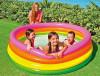 """Детский надувной бассейн """"Радуга"""" 168х46 см, от 3 лет, Intex 56441"""