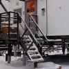 Лестницы стальные МЛГВ 45-900.1750 на винтовых сваях