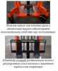Штабелер ручной гидравлический, грузоподъемность 1 тонна