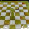 Шахматы оникс мрамор с рамкой из оникса
