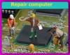 Ремонт ПК, ноутбков с заменой чипоа и видеоматрицы, комп.комплектующих