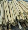 Продам опоры деревянные пропитанные от 6 - 13 метров.