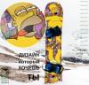 Наклейка (стикер) на сноуборд огромный выбор