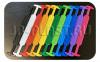 Производство пластиковых ручек для коробок из картона