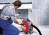 Прочистка труб канализации в квартире и доме