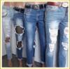 Женские джинсы! Самые модные цвета и узоры!