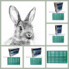 Кормушки многосекционные для кролей любых пород из оцинкованной стали