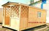 Деревянный домик из вагонки от Тюменского производителя.
