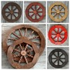Колеса деревянные